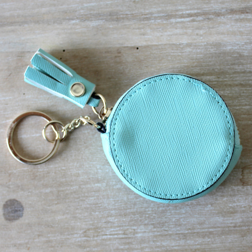 Coin Case Keychain