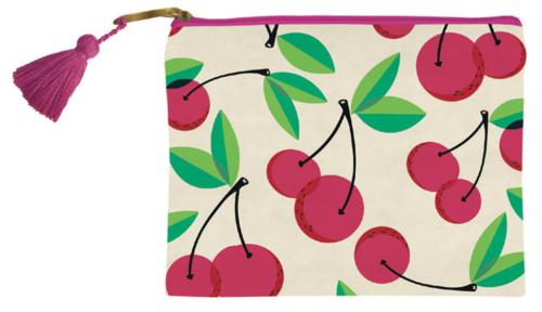 Cherry Zip Pouch