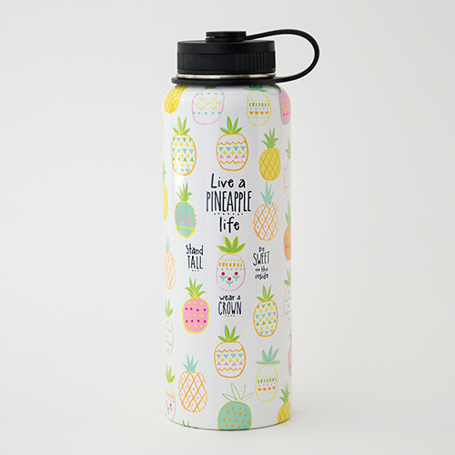 Pineapple Life Water Bottle