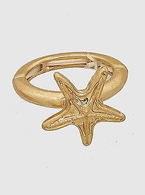 Starfish Stretch Ring