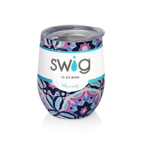 Kalediscope Swig Wine Cup- 12oz