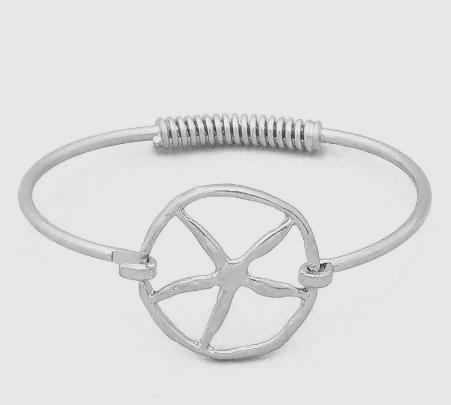 Starfish Link Bangle