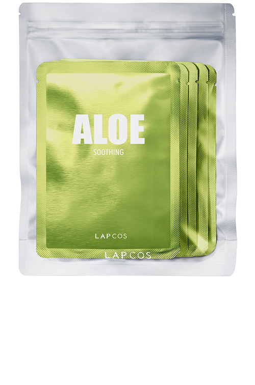 Aloe Soothing Face Mask 5 Pack