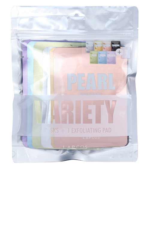 Variety Face Masks + Exfoliating Pad
