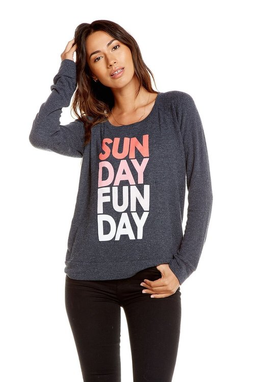 Sunday Funday Knit Pullover