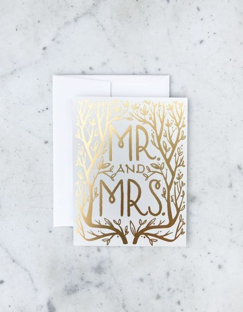 Greeting cards ish boutique ish boutique webstore shop in mr mrs gold card m4hsunfo Gallery