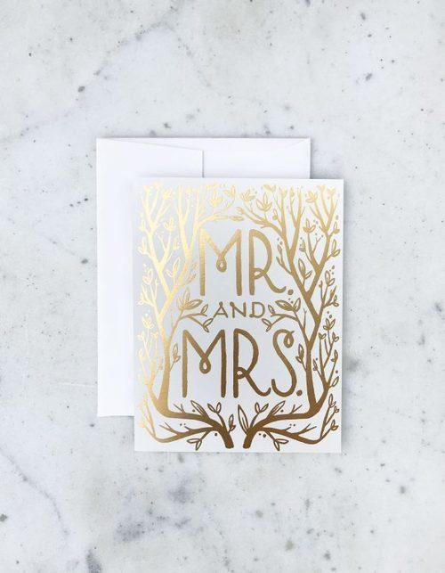Mr. & Mrs. Gold Card
