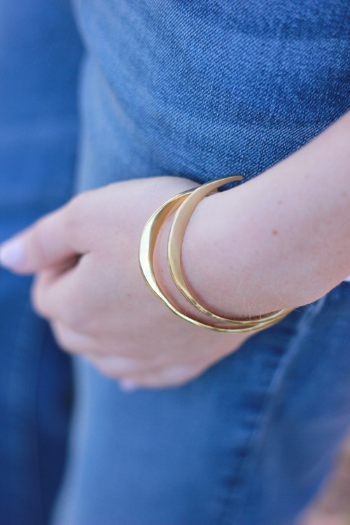 Heirloom Brass Cuff