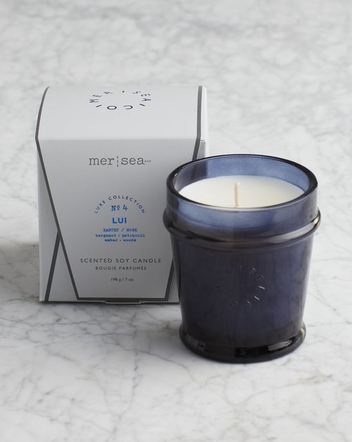 Lui Luxe Signature Boxed Candle
