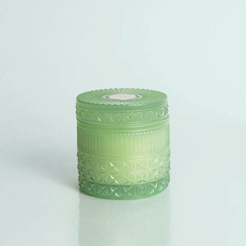 Mint Faceted Jar Volcano 11 oz