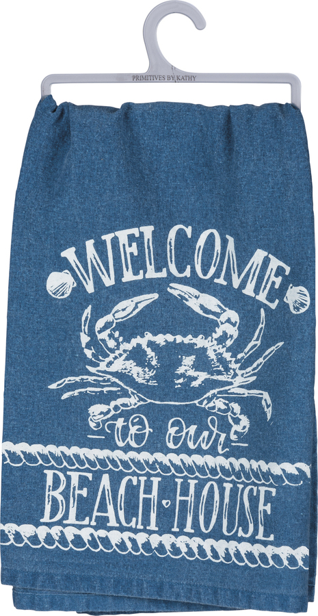 Beach House Dish Towel