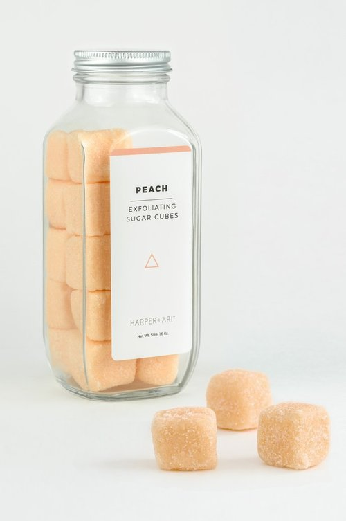 Exfoliating Sugar Cubes - Peach