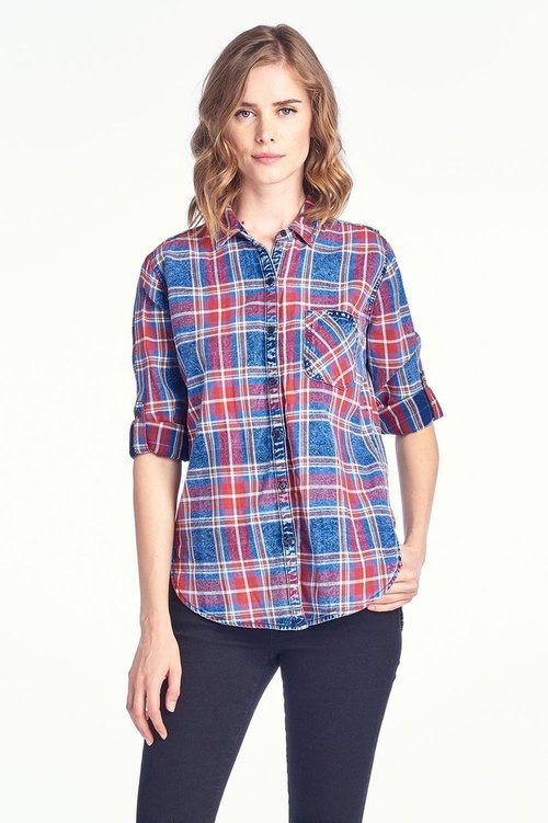 Rugged Flannel Shirt