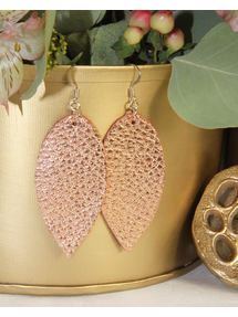 Jillian Made Copper Earrings