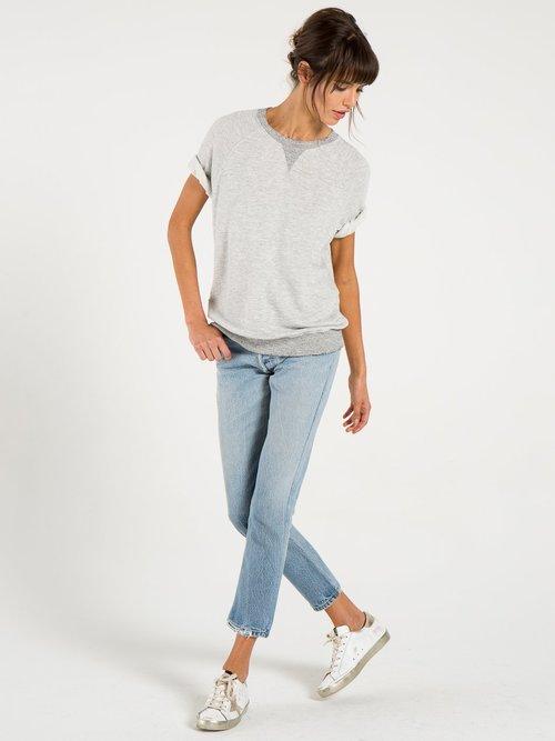 Ace-Short Sleeve Sweater