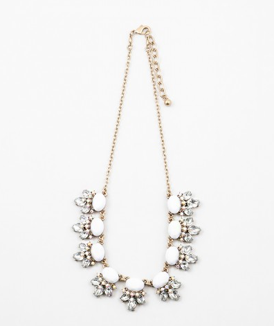 Sparkle Iridescent Bib Necklace