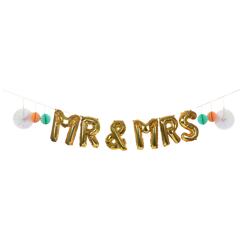 Mr(s) & Mrs. Balloon Kit