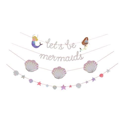 Lets Be Mermaids Garland