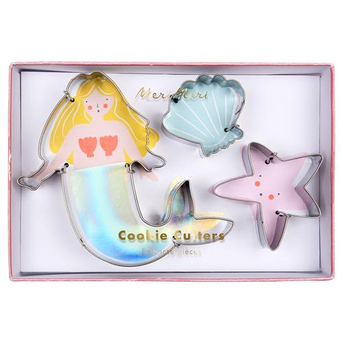 Mermaid Cookie Cutters