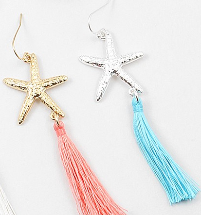 Starfish Tassel Dangle
