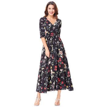 Gardener Maxi Dress (2 PRINTS)