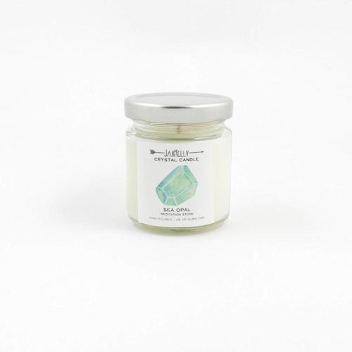 Crystal Candle Sea Opal - 4oz