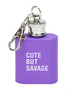 Savage Key Ring Flask