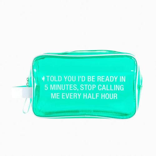Stop Calling Cosmetic Bag