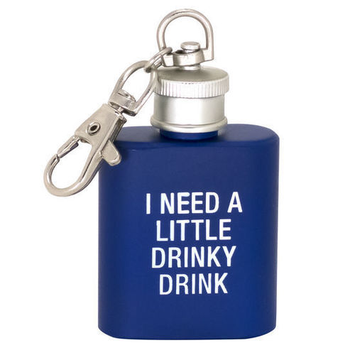 Drinky Drink Key Ring Flask