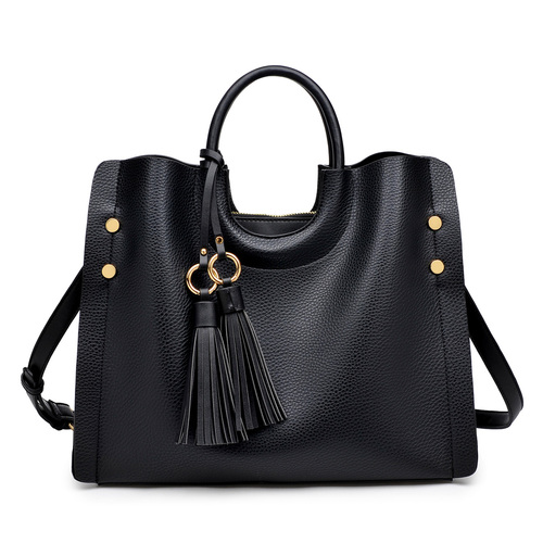 Ryder Black Satchel