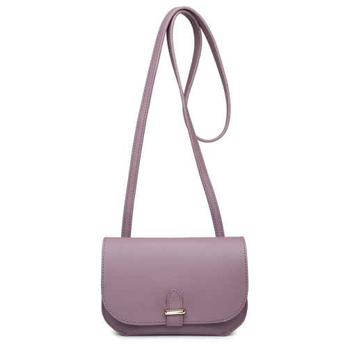 Lacey Eggplant Purse