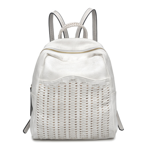 Sofia White Backpack