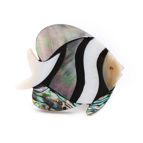 Swim with the fishies Brooch