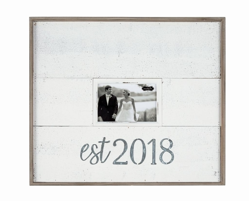 EST 2018 Tin Frame
