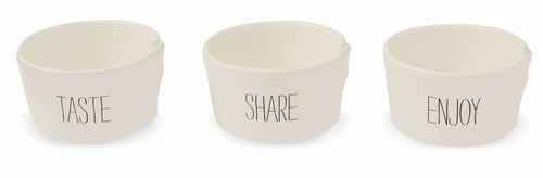 Bistro Ceramic Ramekin Set