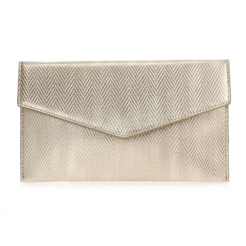 Woven Envelope Clutch