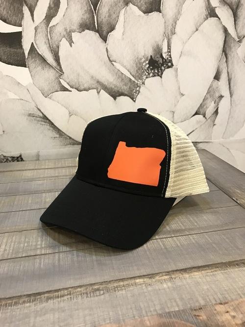 Hank Orange Black Hat Orange OR