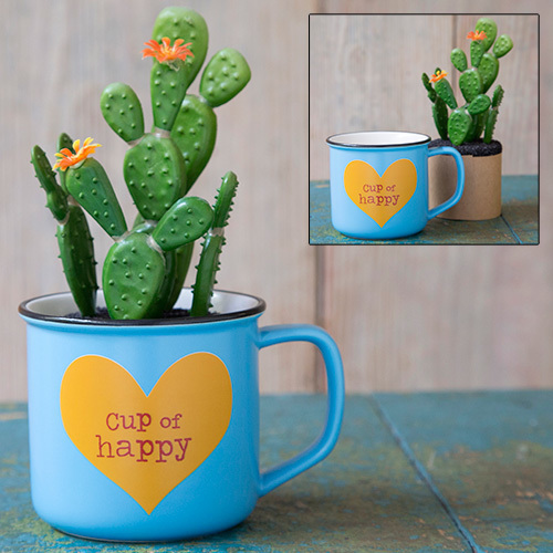 Cup Of Happy 2 in1 Mug Succulent