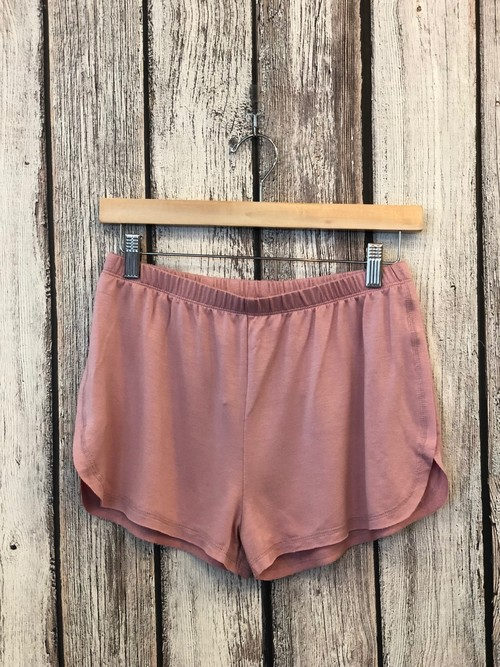Dusty Purple Knit Shorts