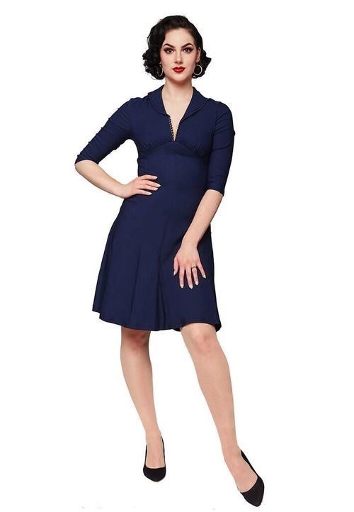 46b70e284b Cybill Dress in Green or Navy