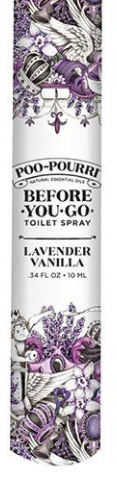 Lavender Vanilla Travel Poo Pourri - 10ML