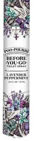 Lavender Peppermint Travel Poo Pourri - 10ML