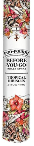 Tropical Hibiscus Travel Poo Pourri - 10ML