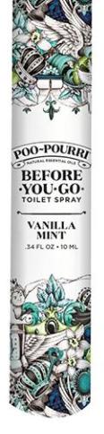 Vanilla Mint Travel Poo Pourri - 10ML