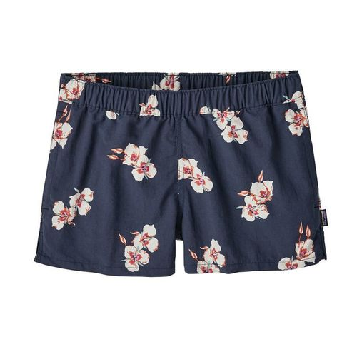 Patagonia W Barely Baggies Shorts Mariposa Lily-Classic Navy