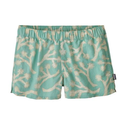 Patagonia W Barely Baggies Shorts Joshua Trees-Bend Blue