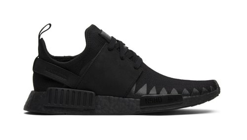 buy popular c88d0 949f4 Adidas Neighborhood x NMD_R1 Primeknit 'Triple Black' - BB9245