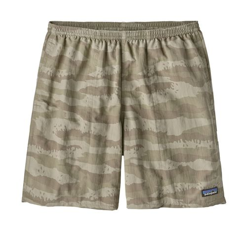 Patagonia M Baggies Longs - 7in Rock Camo/Shale