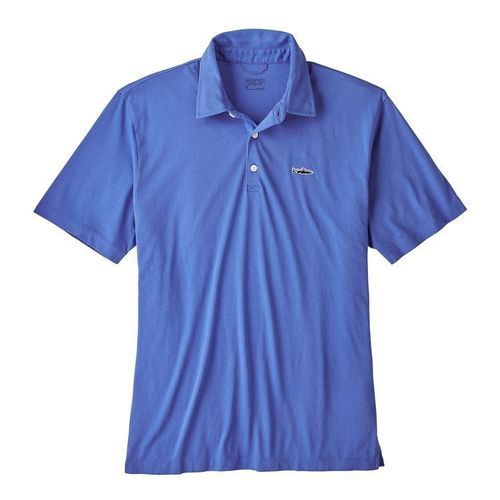 Patagonia M Polo - Trout Fitz Roy Imperial Blue