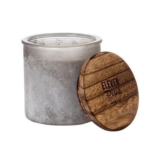 Wildflower River Rock Jar Candle